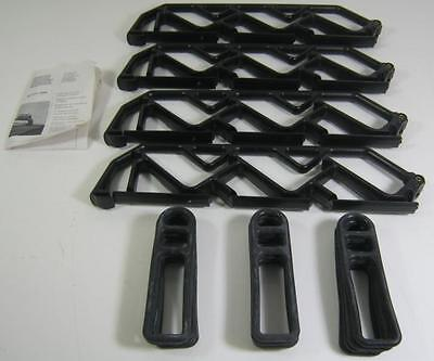 New Genuine Vw Accessory Roof Bars Lockable Ski Carrier Holder