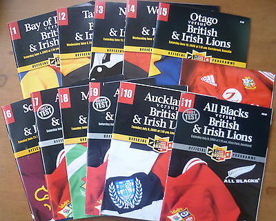 2005 British Lions in New Zealand Programmes
