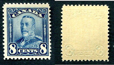 MNH Canada 8 Cent KGV Scroll Stamp #154 (Lot #6285)