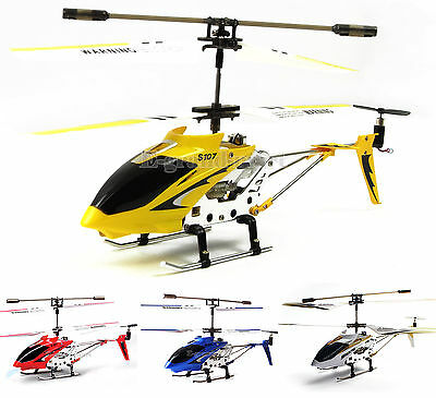 Syma S107/S107G 3-Channel 3.5CH Mini Remote Control RC Helicopter Gyro Genuine