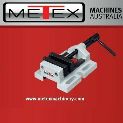 Optimum 100mm Drill Press Vice - Drilling Milling Vise Prismatic Hardened Jaws