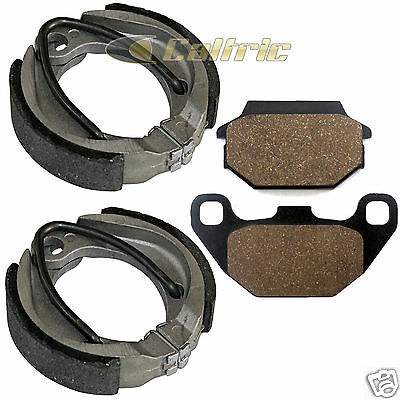 FRONT BRAKE SHOES & REAR BRAKE PADS FITS ARCTIC CAT Utility 90 2006-2014