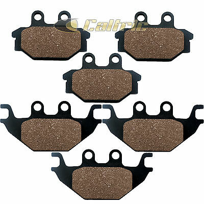 Front & Rear Brake Pads Fits Bombardier Ds250 Ds 250 2006
