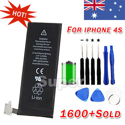 OZ Battery Replacement with Screwdriver Tools for iPhone 4S OEM Genuine Original