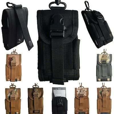 MOLLE II NEW HOT Army Camo Bag for Phone Belt Loop Hook Cover Holster Pouch Case