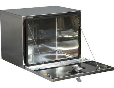 """Buyers Products 1702653, Polished Stainless Steel Toolbox, 18"""" H x 18"""" D x 30"""" W"""