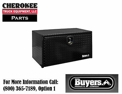 "Buyers Products 1725100, Black PC Aluminum Toolbox, 18"" H x 18"" D x 24"" W"