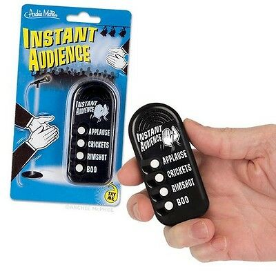 Emergency Instant Audience Button 4 Different Sound Effects Gag Gift Novelty Fun
