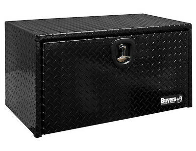 "Buyers Products 1725105, Black PC Aluminum Toolbox, 18"" H x 18"" D x 36"" W"