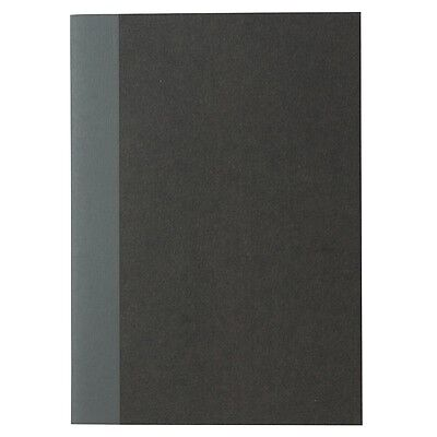 Made in Japan muji minimal black cover 5mm grid A6 notebook 30 sheet = 60pgs