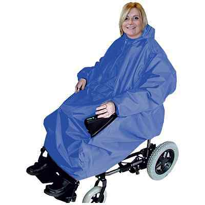 Waterproof Electric Wheelchair Cape / Cover - Waterproof Power Wheelchair Cover