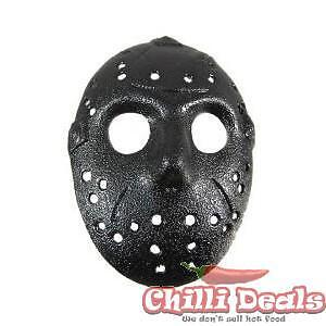 Friday the 13th Jason Hockey Mask Diecast belt buckle