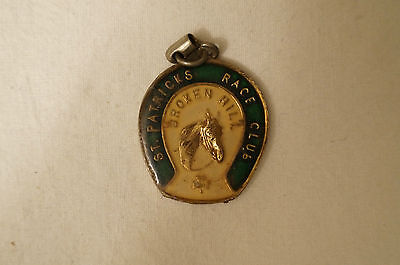 Collectable - Vintage - Broken Hill - St. Patricks Race  Club - Members Badge.