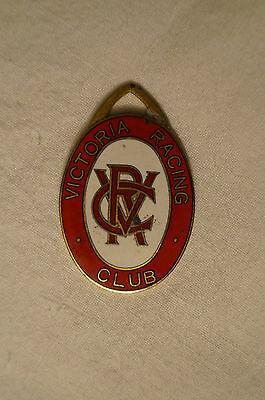 VRC - Victoria Racing Club - Collectable - 1988 - Members Badge.