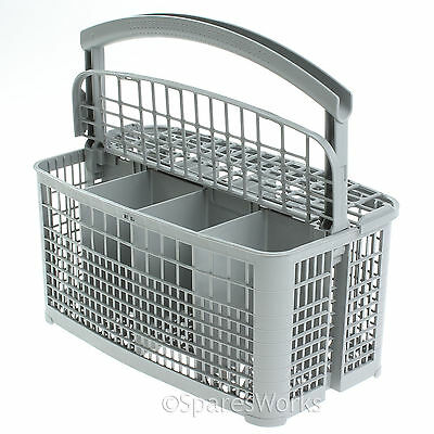 SIEMENS Dishwasher Cutlery Basket Rack Grey Genuine 240mm X 135mm X 120mm