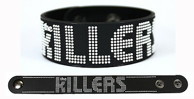 THE KILLERS Rubber Bracelet Wristband Shot At The Night