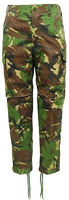 Kids Game Camo Army Woodland Camouflaged Cargo Trousers / Pants
