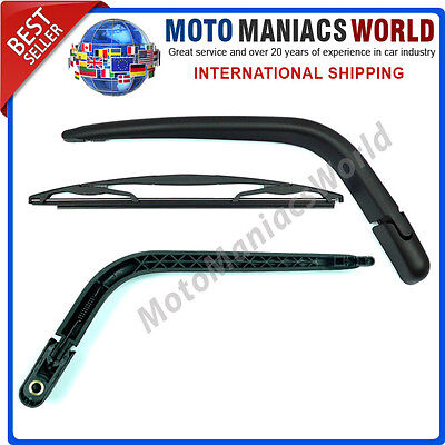 Rear Window Wiper Arm & Blade TOYOTA YARIS 1999-2005 FRENCH Version Brand New !