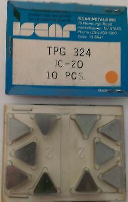 Business & Industrial 10 x ISCAR TPG 432 TPGN 220408 IC20 Carbide insert Cnc Lathe New! CNC, Metalworking & Manufacturing