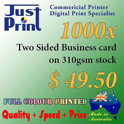 1000x Business Card Printing, two sided