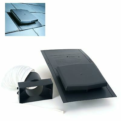 10K Slate Roof Tile Vent Ventilator & Adapter Kit / Extractor fans & Soil Pipe