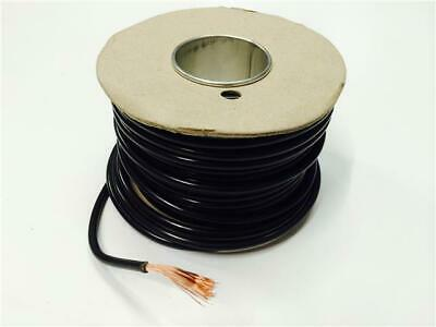 27.5Amp Black Electrical Cable For House Diy Loom Flex Repair - Single Core - 5M
