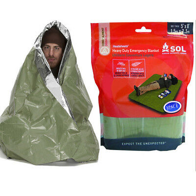SOL Heavy Duty Emergency Blanket - Thermal, Tactical