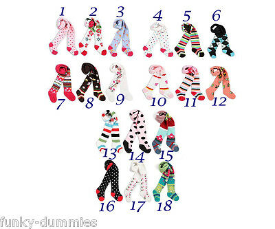 Baby Toddler Girls Tights 20 Cute Designs, 3 Sizes, Very Comfy And Cute