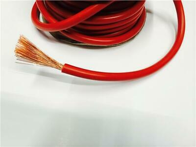1M Red Leisure Battery Connection Cable 110 Amp Marine Automotive