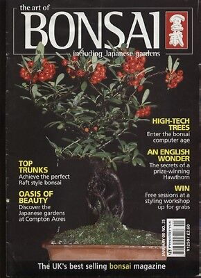 THE ART OF BONSAI MAGAZINE - January 2000