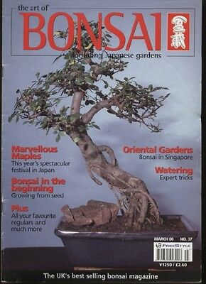 THE ART OF BONSAI MAGAZINE - March 2000