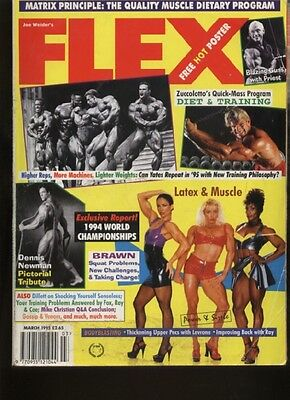 FLEX MAGAZINE - March 1995