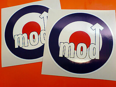 RAF ROUNDELS Scooter Moped Mod Stickers Decals 2 off 100mm