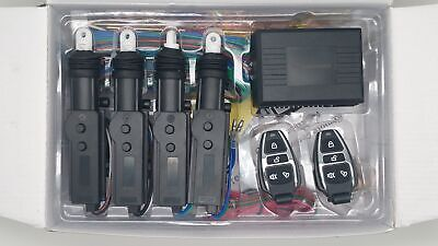 Motorguard 2/4 Door Universal Remote Central Locking Full Fitting Kit 12 Volts
