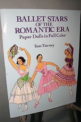 Ballet Stars of the Romantic Era by Tom Tierney Paper Dolls Dover