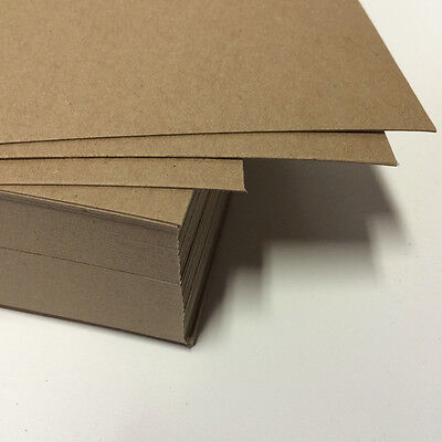 "Chipboard 22 pt - 8.5x11"" full sheets 0.022 Lightweight 25 - 200 quantity crafts"