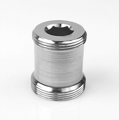 M22 AG x M24 AG, superlang, ink Dichtung, M22 male x M24 mal, thread adapter