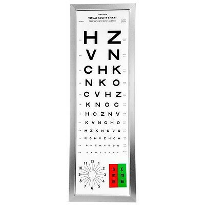 US Ophthalmic Vision Chart CP-5000 Luxvision -- 1 Year Warranty!