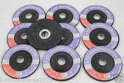 """100 PACK 4-1//2/"""" GRINDING WHEELS FIT MILWAUKEE 4.5/"""" ANGLE GRINDERS AND MORE"""