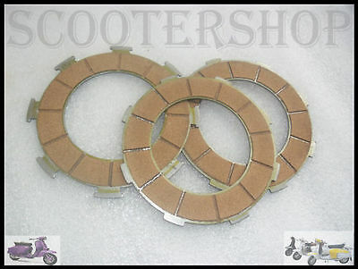 Vespa  Brand New Clutch Plate Set Px 200 @ Ves_Lam
