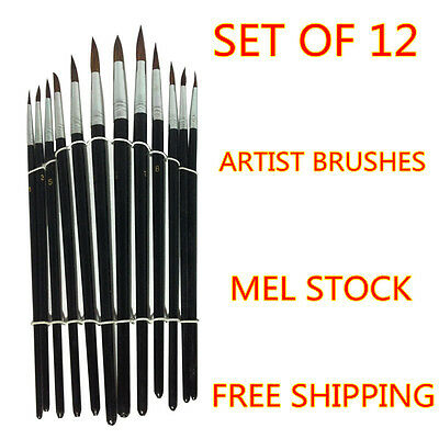 Art Artist Paint Brushes Set/Kit For Painting  Paints Craft Watercolour Oil pen