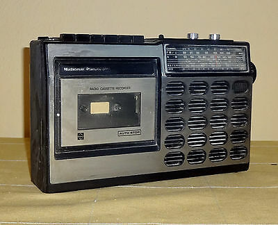Vintage 1975 National Panasonic Rq 517S Radio Cassette Recorder * Made In Japan