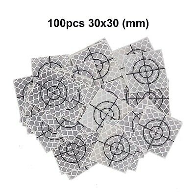 100pcs Reflector Sheet 30 x 30 mm ( 30x30 ) Reflective tape target total station