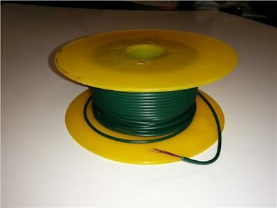Any Length Single Core 5.75A Green Auto Cable Cabling Car Wire Strand Connect