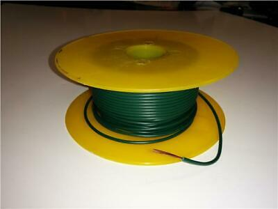 5M Green Single Core Cable 5.75 Amp Rewire Electrical Component / 12V Relays