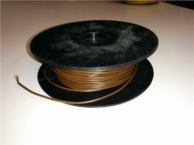 8.75Amp Brown Electrical Cable For House Diy Loom Flex Repair - Single Core - 5M