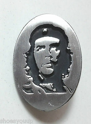 Che Guevara Head -  Hand Made in the UK Pewter Lapel Pin Badge