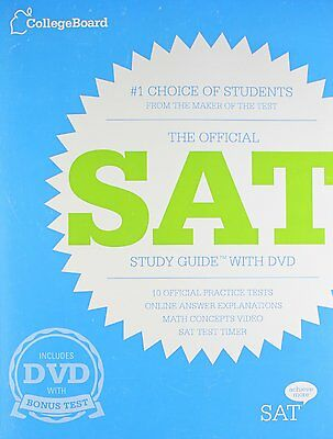 FREE 2 DAY SHIPPING: The Official SAT Study Guide with DVD by The College Board