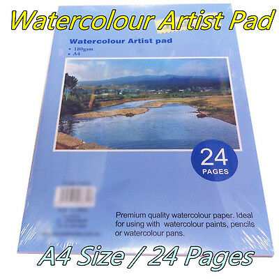 A4 Watercolour Paper Art/Artist Sketchbook/Sketch Pad  Journal For Drawing Paint
