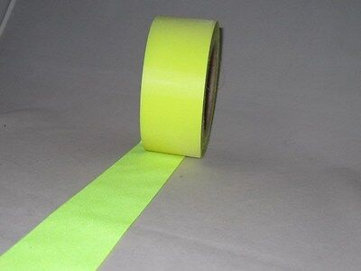 """Reflective Tape 2"""" Sew-On lime yellow, fabric trim vest 3M=10 Foot"""